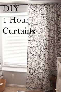 How to make Curtains in 1 Hour