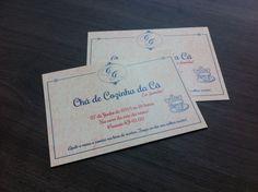 Convite Chá de Cozinha | Personalizzato Papelaria Criativa | Elo7