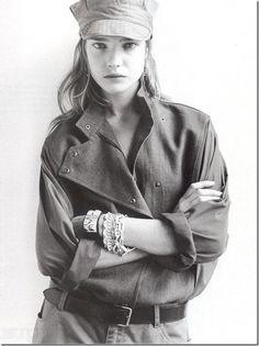 Natalia Vodianova in Vogue France 2003, Stylist: Emmanuelle Alt, Photography: Terry Richardson