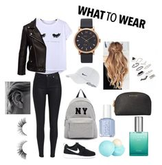 """Untitled #23"" by marieamalieholm on Polyvore featuring Chicnova Fashion, NIKE, Joshua's, Marc Jacobs, River Island, MICHAEL Michael Kors and Topshop"
