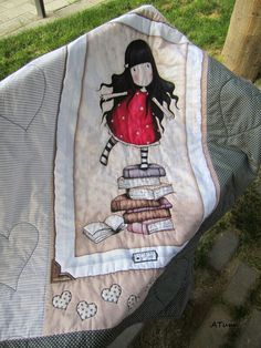 Colcha de gorjus Picnic Blanket, Outdoor Blanket, Fabric Bags, Applique Quilts, Baby Quilts, Stitching, Quilting, Couture, Sewing