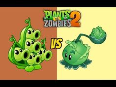 Plants vs Zombies 2 Pea Pod Vs Cabbage pult