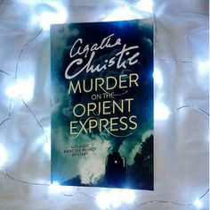 """""""[I pick] Murder on the Orient Express by Agatha Christie. It's one of her greatest mystery novels and is being turned into a film this year. Private detective Hercule Poirot is on the Orient Express, which is stopped in the middle of the night by snow. The next morning — one of the many passengers — an American tycoon is found murdered in his cabin, with the door locked from the inside. Stuck in the middle of nowhere, and travelling with a murderer, Poirot has to find the killer before he —…"""