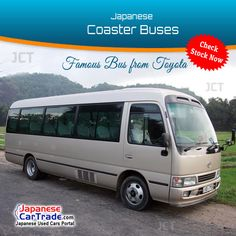 Check Now! Popular Japanese Used Toyota Buses For Sale Latest 300 units available in stock. Japanese S, Japanese Used Cars, Nice Bus, Heavy Equipment For Sale, Used Bus, Tundra Trd, Buses For Sale, Used Toyota, Twin Turbo