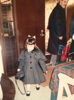 I discovered the importance of stylish outerwear around age 3. #tbt