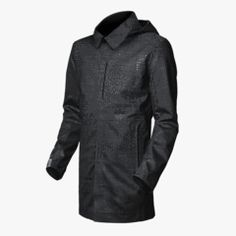 The Bremen : Wool Waterproof Raincoat // MISSION WORKSHOP