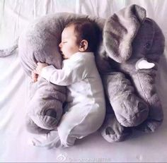 Baby Elephant Cartoon Pillow Seat Cojin Lactancia Kidskids room decoration Pillow elefante de pelucia