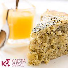 Lemon  drizzle cake - ciasto cytrynowe z makiem
