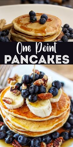These skinny are perfectly fluffy and delicious and you would never know that they are just one Weight Watcher Smart Point each! These pancakes have no added sugar or fat and are made with greek yogurt so they have 3 grams of protein in each pancake. Weight Watcher Desserts, Weight Watchers Snacks, Weight Watchers Pancakes, Weight Watchers Meal Plans, Weigh Watchers, Weight Watchers Breakfast, Weight Watcher Dinners, Weight Watchers Smart Points, Weight Watchers Waffle Recipe
