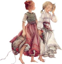 """Lisi Martin Not vintage.but """"old fashioned"""" contemporary art. Sarah Kay, Spanish Artists, Holly Hobbie, Children's Book Illustration, Vintage Cards, Vintage Children, Retro, Cute Art, Illustrators"""
