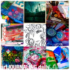 art JOURNALING daily - 30+ art journaling prompts with traci bautista