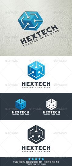Hexa Technology Logo Template   http://graphicriver.net/item/hexa-technology-logo-template/8242040?ref=damiamio