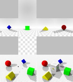 In computer graphics, cube mapping is a method of environment mapping that uses the six faces of a cube as the map shape. The environment is projected onto the sides of a cube and stored as six square textures, or unfolded into six regions of a single texture. The cube map is generated by first rendering the scene six times from a viewpoint, with the views defined by an orthogonal 90 degree view frustum representing each cube face.