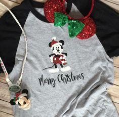 Disney Christmas Shirt * Mickey Mouse Shirt * Disney Mickey Shirt * Disney Merry Christmas * Disney Vacation Shirt * Matching Disney Shirt by TheParkHopShoppe on Etsy https://www.etsy.com/listing/635634289/disney-christmas-shirt-mickey-mouse