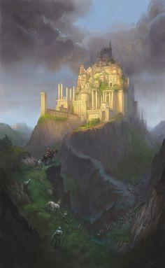 The Golden City - Illustration Thomas Brissot