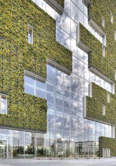 21 Green Building Architecture Concept - vintagetopia - Source by - Cultural Architecture, Education Architecture, Green Architecture, Concept Architecture, Futuristic Architecture, Sustainable Architecture, Residential Architecture, Architecture Design, Pavilion Architecture