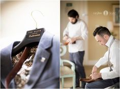 Aislinn Kate Photography | groom | getting ready | wedding style | blue suit | men in suits