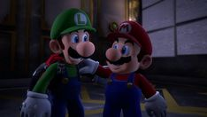 *insert witty caption about cute luigi* Super Mario And Luigi, Super Mario Art, Super Mario Brothers, Mario Bros, Nintendo Game, Nintendo World, Luigi Mansion, Mario Comics, The Shadow Queen