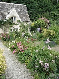 English Cottage Garden, Bibury by TravelPod Member Cleanslate