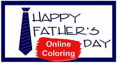 Fathers Day Online Coloring Pages Online Coloring Pages, Happy Father, Fathers Day, Science, Father's Day