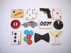 James Bond cookies!