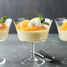 Luscious Orange Panna Cotta | MyRecipes.com