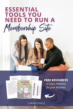 Discover which 7 tools are essential to keep your membership site working well for both you and your members along with getting free resources to learn Pinterest for business. Learn valuable lessons from Cara Chace as she walks you through a detailed explanation of who and why she chose the tools she uses to run her successful membership site.