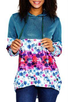 Culito from Spain multicolor sweatshirt Amy Winehouse Amy Winehouse, Sweatshirts, Floral, Skirts, Collection, Fashion, Moda, Fashion Styles, Skirt