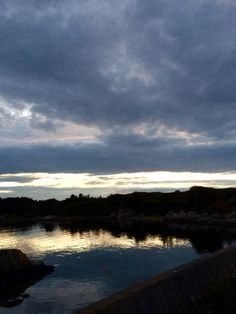 Закат в Норвегии 😊