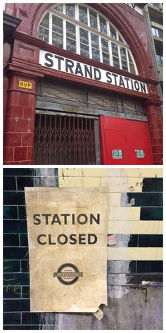 Go inside an abandoned tube station... The London bucket-list for new Londoners (or London lovers)
