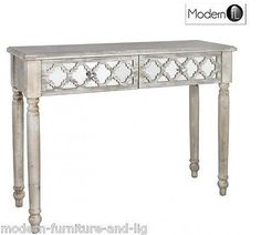 antique style wood and mirrored dressing table Product Description Finished in…