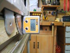 Michas Holzblog: Tipp: (Schnitt)Winkeljustage an einer Festool TS(C) 55 R Festool Ts 55, Woodworking Jigs, Simple Machines, Wood Workshop, Tips
