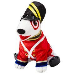Toy Soldier Bullseye Target Dog