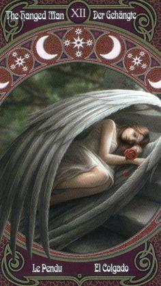 The  Hanged Man Anne Stokes Legends tarot
