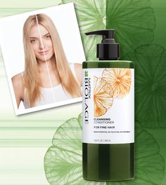 Professional Cleansing Conditioner For Fine, Thin Hair - Matrix  Low-lathering, fast-rinsing, soap-free cleansing conditioner with no sulfates, no parabens, no silicones slide away dirt and residue without stripping the hair for more manageability. Suitable for color treated hair.