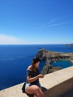 Spa, Island, Acropolis, Old Town, Travel Report, Vacation