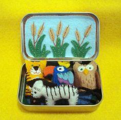 Altoid tin pond softies on etsy MockingbirdWorkshop