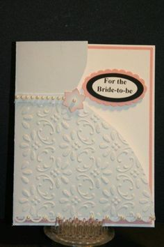 homemade bridal shower cards - Google Search