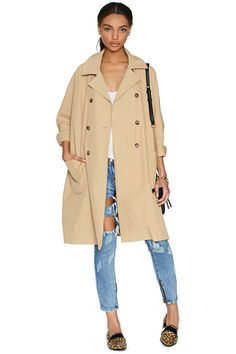 Rain Check Trench | Shop What's New at Nasty Gal