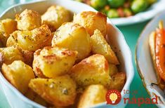 Upgrade crispy roast potatoes with garlic butter and sage for a winning Christmas dinner side dish. Find plenty more Christmas side dishes at Tesco Real Food. Christmas Dinner Side Dishes, Thanksgiving Side Dishes, Roasted Potato Recipes, Roasted Potatoes, Xmas Food, Christmas Cooking, Christmas Potatoes, Tesco Real Food, Gnocchi