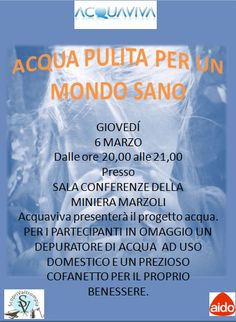 Acqua Pulita Per Un Mondo Sano a Pezzaze http://www.panesalamina.com/2014/22330-acqua-pulita-per-un-mondo-sano-a-pezzaze.html