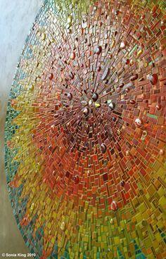 Aurora mozaika Sonia króla Mosaic artysty