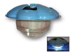 Image Lumiere flottante TOI eclairage 64 LED dimensions Ø30 x 18cm pour piscine hors-sol