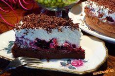Čokoládový dort bez mouky jako peříčko