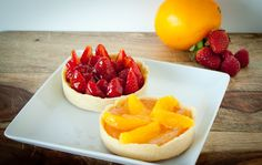 Gojee - Citrus & Berry Tartlettes by Blogging Over Thyme