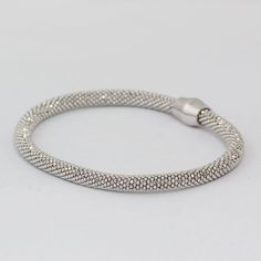 - Bracelet includes a gift box and jump ring for attaching a pendant. - Sterling silver rope bracelet for cremation pendant. - Cremation pendants can be added to this charming bracelet with the additi