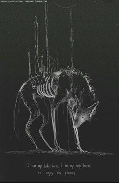 My Demons, Macabre, Werewolf, Dark Art, Fantasy Art, Creepy, Cool Art, Illustration Art, Digital Art
