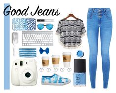 """Good Jeans"" by amitdahan ❤ liked on Polyvore"