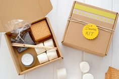 The girl candy house: How to make s'mores at home (and a kit for carrying or give away)