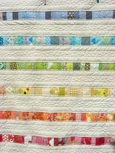 Baby quilt - for baby William by flossyblossy, via Flickr
